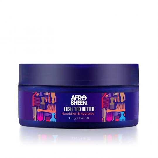 Afro Sheen - Lush Fro Butter - Beurre Nourrissant & Hydratant (113g)