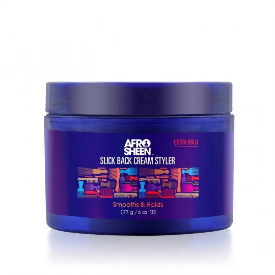 Afro Sheen - Slick Back Cream Styler - Créme Lisseuse (177g)