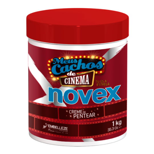 Novex - My Curls Movie Star - Leave-In Conditioner - Après Shampoing Sans Rinçage (1kg)