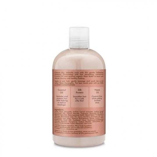 Shea Moisture - Coconut Hibiscus - Curl And Shine Shampoing (384ml)