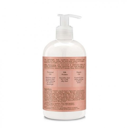 Shea Moisture - Coconut Hibiscus - Conditioner - Après-Shampooing (384ml)