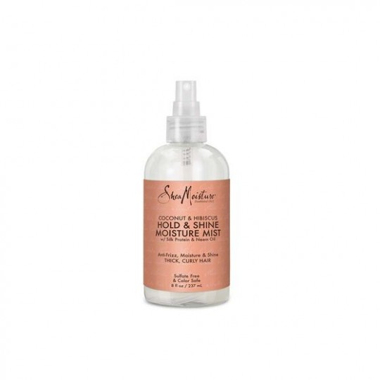 Shea Moisture - Coconut Hibiscus - Hold & Shine Moisture Mist - Spray Fixant (236ml)