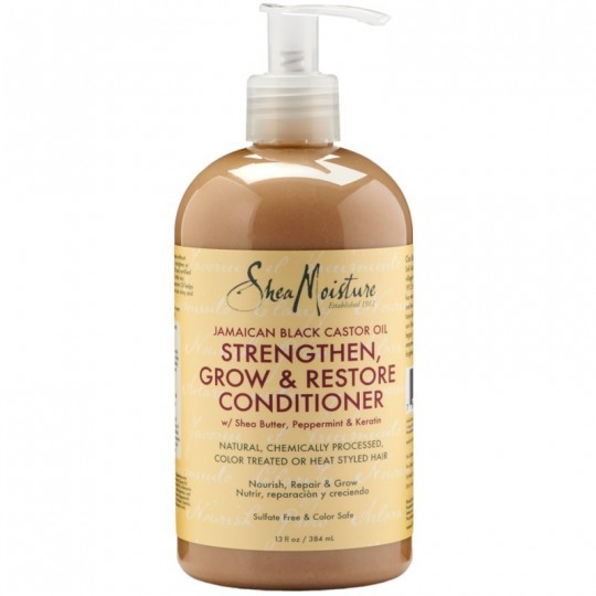 Shea Moisture - Jamaican Black Castor Oil - Conditioner - Après Shampoing (384ml)