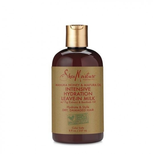Shea Moisture - Manuka Honey & Mafura Oil - Leave-In Milk - Lait Hydratant Sans Rinçage (237ml)