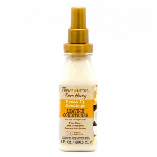 Creme Of Nature - Pure Honey - Soin Réparateur Sans Rinçage (236,5ml)