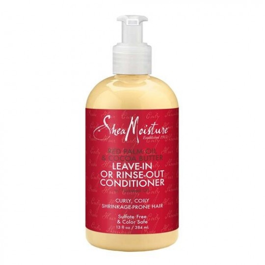 Shea Moisture - Red Palm Oil & Cocoa Butter - Leave-in Or Rinse-out Conditioner - Après-Shampooing Sans Rinçage (384ml)