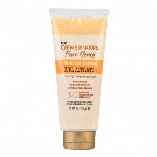 Creme Of Nature - Pure Honey - Curl Activator Shrinkage Defense - Activateur De Boucles (310 ml)