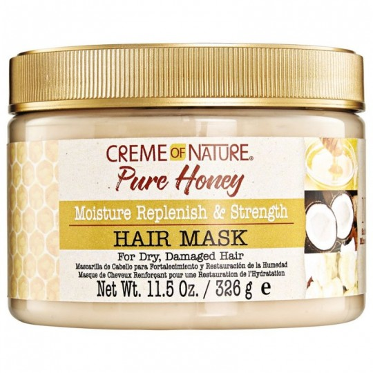 Creme Of Nature - Pure Honey - Masque Hydratant Et Fortifiant (326g)