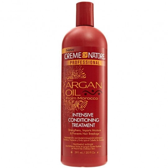 Creme Of Nature - Argan Oil - Intensive Conditioning Treatment - Soin Intensif Argan (591 ml)
