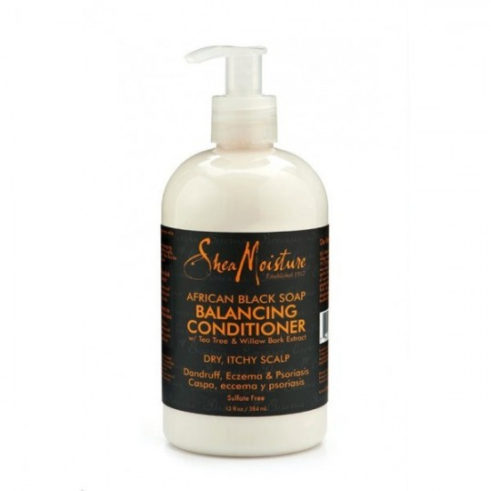 Shea Moisture - African Black Soap - Balancing Conditioner - Après Shampoing Équilibrant (384ml)