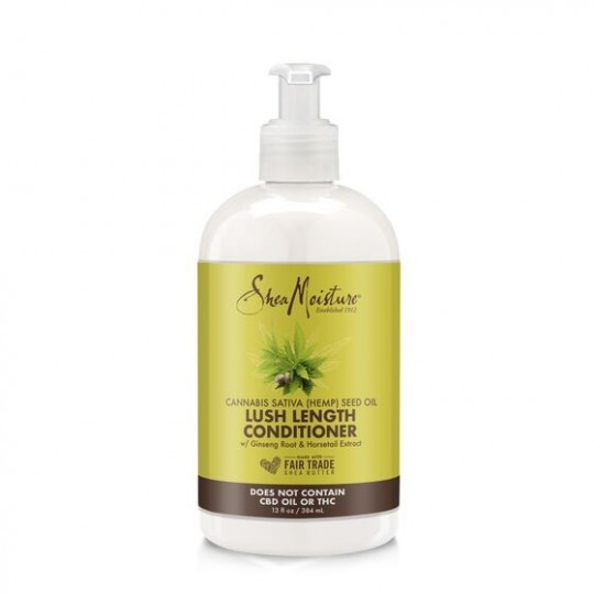 Shea Moisture - Hemp Seed Oil - Lush Length Conditioner - Après Shampoing ( 384ml)