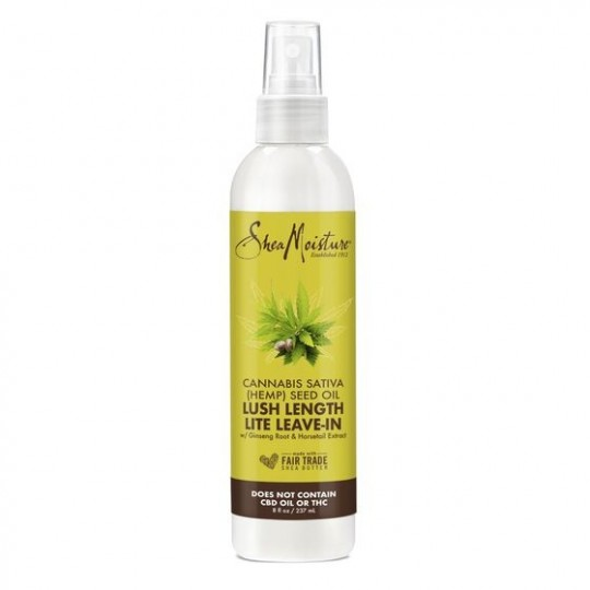 Shea Moisture - Hemp Seed Oil - Lush Length Lite Leave-in - Crème Sans Rinçage (237ml)