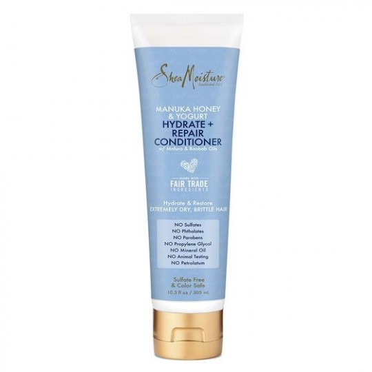 Shea Moisture - Manuka Honey & Yogurt - Hydrate & Repair Conditioner - Après-Shampoing Réparateur (3O5ml)