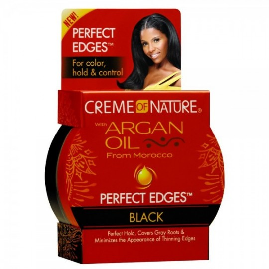 Creme Of Nature - Argan Oil - Perfect Edges Black - Gel Lisseur De Bordure (63,7 g)