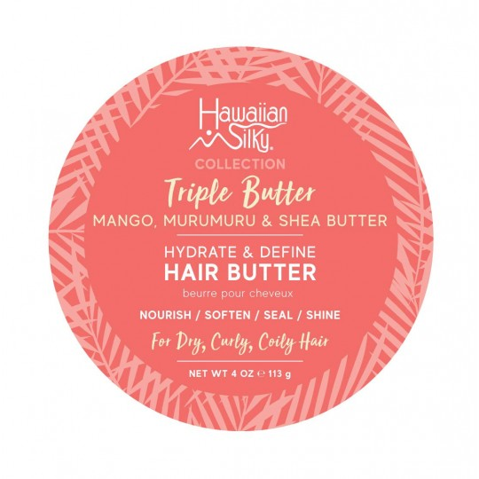 Hawaiian Silky - Triple Butter - Hydrate & Define Hair Butter - Beurre Capillaire Hydratant Définissant (354ml)