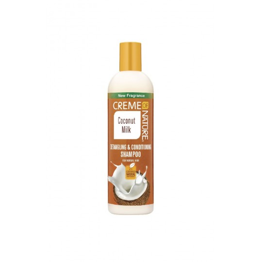 Creme Of Nature - Coconut Milk - Detangling & Conditioning Shampoo - Shampoing Démélant Et Conditionnant (354 ml)