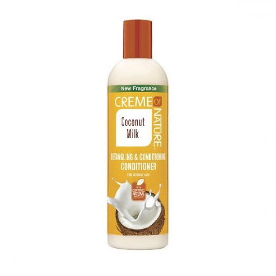 Creme Of Nature - Coconut Milk - Detangling & Conditioning Conditioner - Après Shampoing Démêlant Et Revitalisant (354 ml)