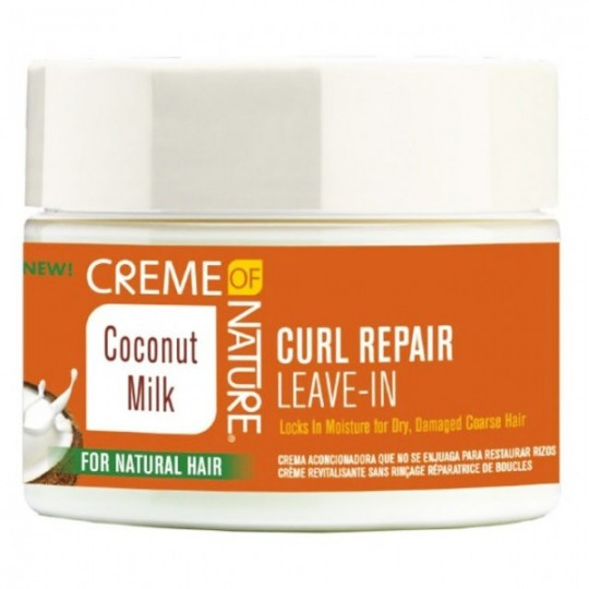 Creme Of Nature - Coconut Milk - Curl Repair Leave-In - Creme Réparatrice De Boucles Sans Rinçage (326 g)
