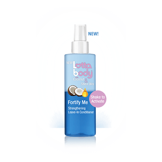 Lottabody - Coconut & Shea Oils - Fortify Me Strengthening Leave-In Conditioner - Revitalisant Sans Rinçage (236 ml)