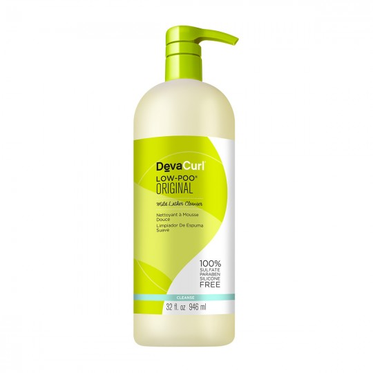 DevaCurl - Low Poo Original - Mild Lather Cleanser - Shampoing Ultra Doux (946ml)