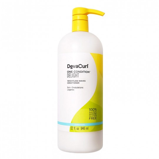 DevaCurl - One Condition Delight - Weightless Waves Conditioner - Tratement Pour Légères Ondulation (946ml)