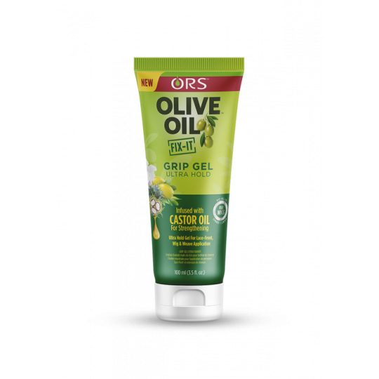 ORS - Olive Oil - Fix-It - Grip Gel Ultra Hold - Gel Ultra Fixant Pour Perruques (150 ml)
