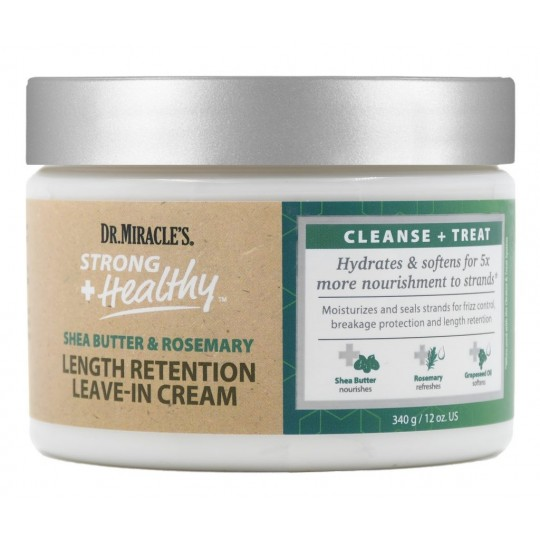 Dr. Miracle's - Length Retention Leave-In Cream - Leave-In (340 g)