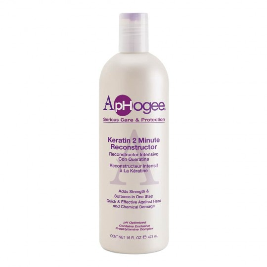 ApHogee - Keratin 2 Minute Reconstructor - Soin Reconstituant 2 Minute (473 ml)
