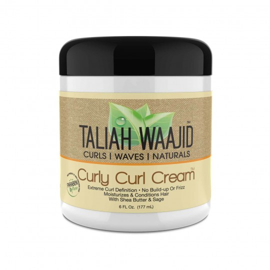 Taliah Waajid - Curls Waves Naturals - Curly Curl Cream - Crème Definition Boucles (177 ml)