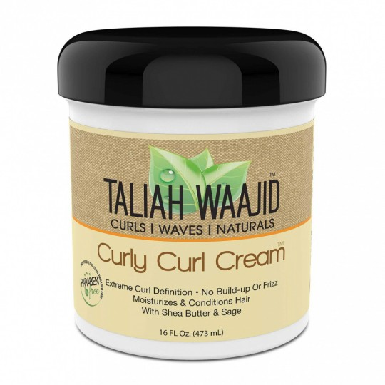 Taliah Waajid - Curls Waves Naturals - Curly Curl Cream - Crème Definition Boucles (473 ml)