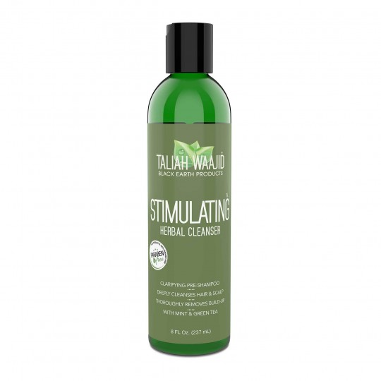 Taliah Waajid - Black Earth Products - Stimulating Herbal Cleanser - Pré-Shampoing (237 ml)
