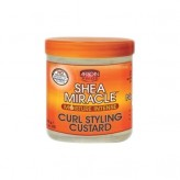 African Pride - Shea Miracle - Moisture Intense - Curl Styling Custard - Crème Coiffante pour Boucles (340 g)
