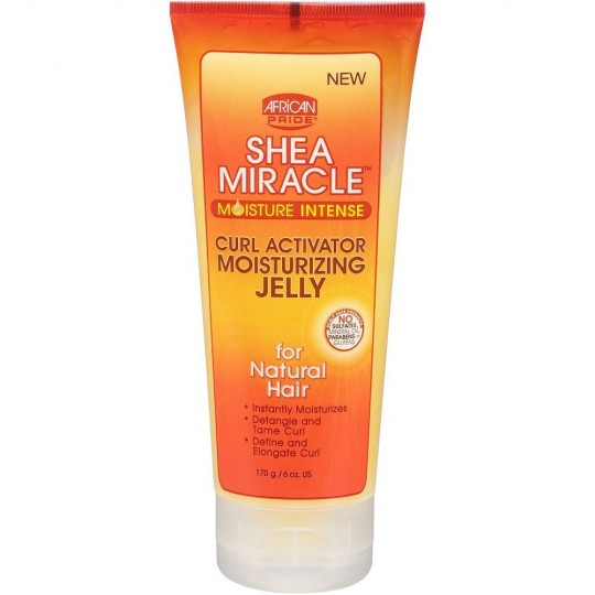 African Pride - Shea Miracle Moisture Intense - Curl Activator Moisturizing Jelly -